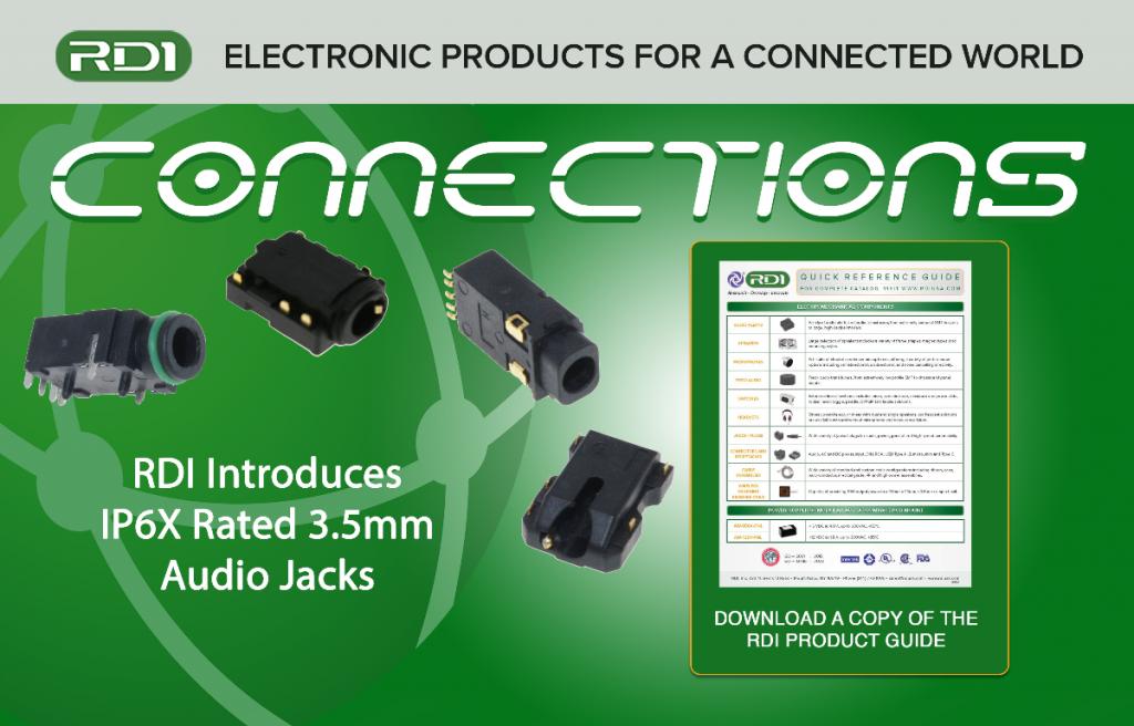 IP6X rated 3.5mm audio jacks