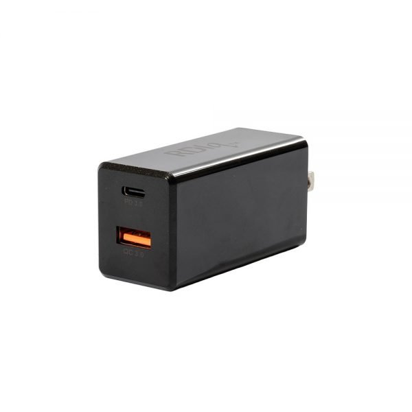 SED65PD/D USB-PD QC 3.0 Fast Charge Power Adapter 65W Black