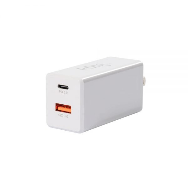 SED65PD/D USB-PD QC 3.0 Fast Charge Power Adapter 65W White